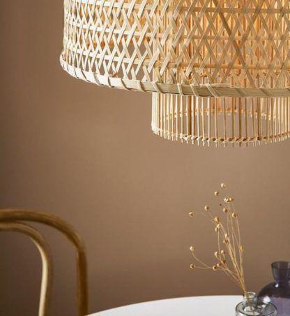 lampa wisząca nad stół boho