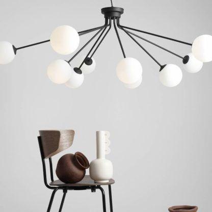 duża lampa wisząca do salonu