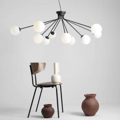 lampa do salonu dużo światła nowoczesna