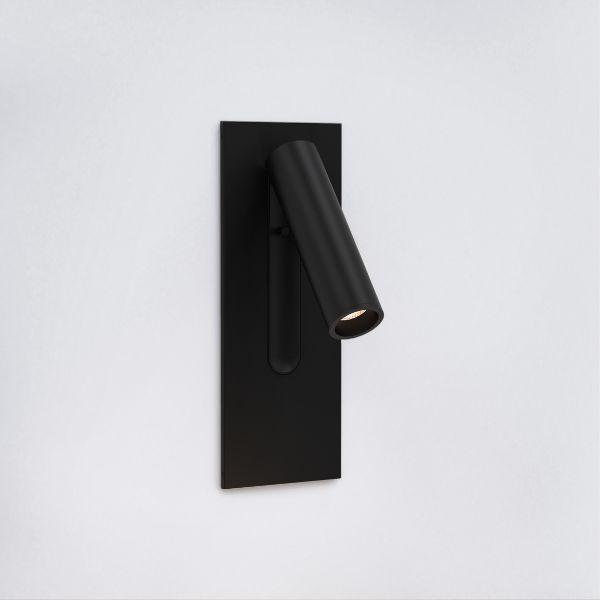 Czarny kinkiet Fuse 3 - LED, do czytania