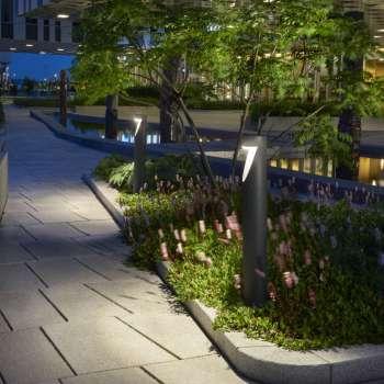 nowoczesny słupek ogrodowy