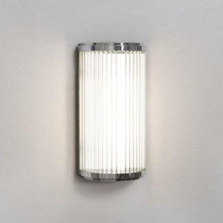 Srebrny kinkiet Versailles 250 - LED, ściemnialny, IP44