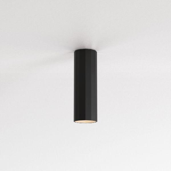 Czarna lampa sufitowa Hashira  250 - wymienna żarówka