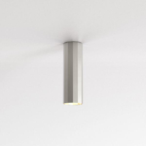 Lampa sufitowa Hashira 250 - srebrna tuba