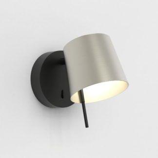 Czarny kinkiet Miura - regulowany, LED