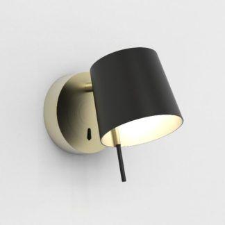Kinkiet Miura - LED, złoty, regulowany