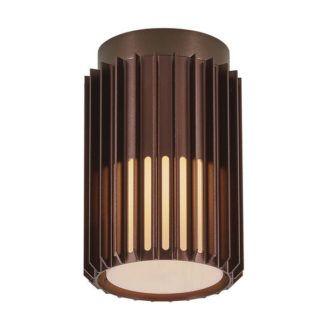 Lampa sufitowa Matrix - Nordlux, IP54, brąz
