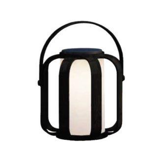 Lampa solarna Bob - mleczny lampion, IP44