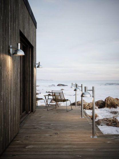 słupek ogrodowy nowoczesna stodoła