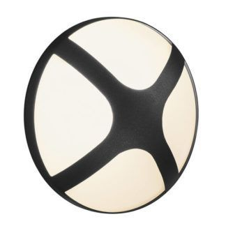 Czarny kinkiet Cross 20 - Nordlux, IP54