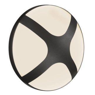 Czarny kinkiet elewacyjny Cross 25 - Nordlux, IP54
