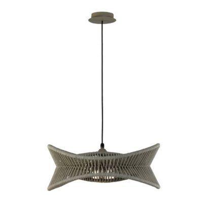nowoczesna lampa wisząca na taras