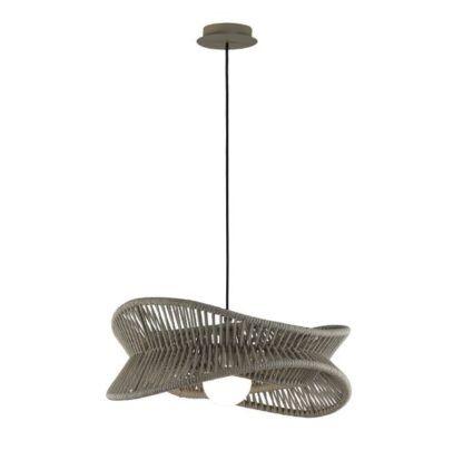 lampa na taras z tworzywa