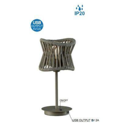 lampa stołowa z usb