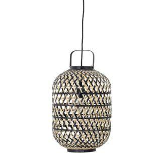 Lampa wisząca Sora - bambusowy lampion