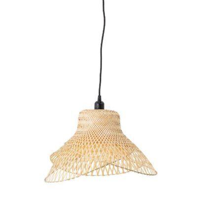Naturalna lampa wisząca Imina  - bambusowa
