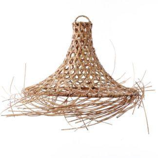Lampa wisząca Mykonos L - naturalny rattan