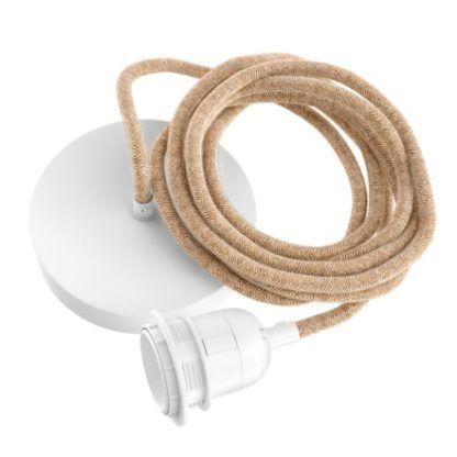 naturalny kabel do lampy