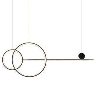 Nowoczesna lampa wisząca New Age - LED, 120cm