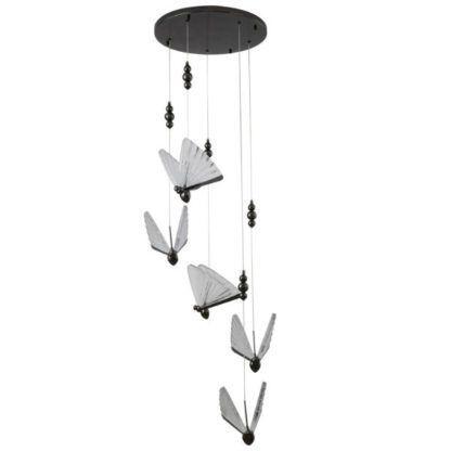 lampa wisząca kaskada motyli