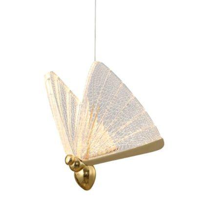 lampa wisząca z motylkami