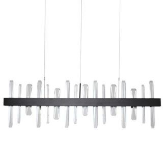 Lampa wisząca Arctic - czarna, 100cm