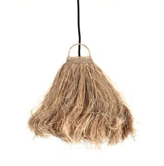 Designerska lampa wisząca z kokosa Coco - styl boho