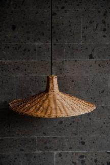 Lampa wisząca Sutter - pleciony klosz