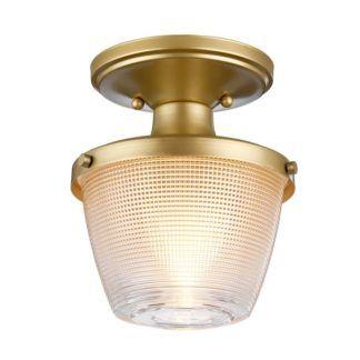 Lampa sufitowa Dublin - szklany klosz, IP44
