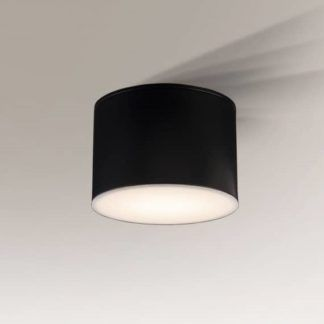 Lampa sufitowa Suwa - czarna tuba