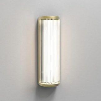 Złoty kinkiet Versailles 400 - IP44, ściemnialny, LED