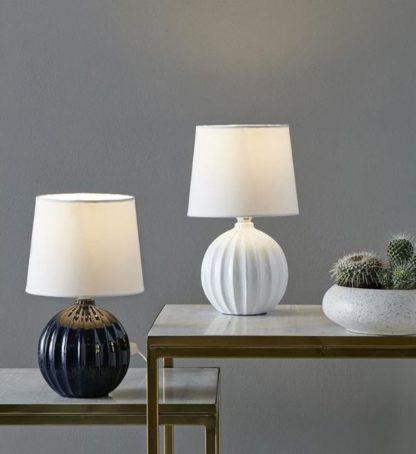 ceramiczne lampy stołowe hamptons