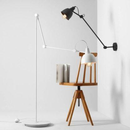 geometryczne lampy do nowoczesnego salonu