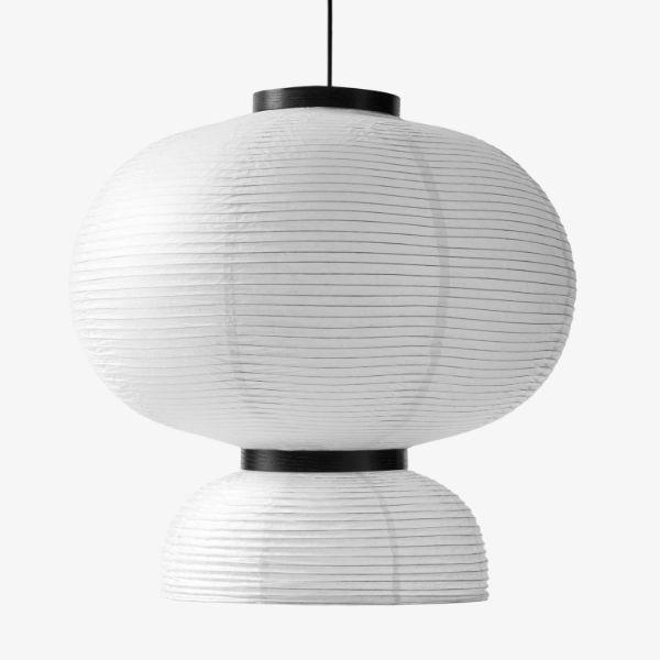 Duża lampa wisząca Formakami JH5 - lampion w stylu japandi