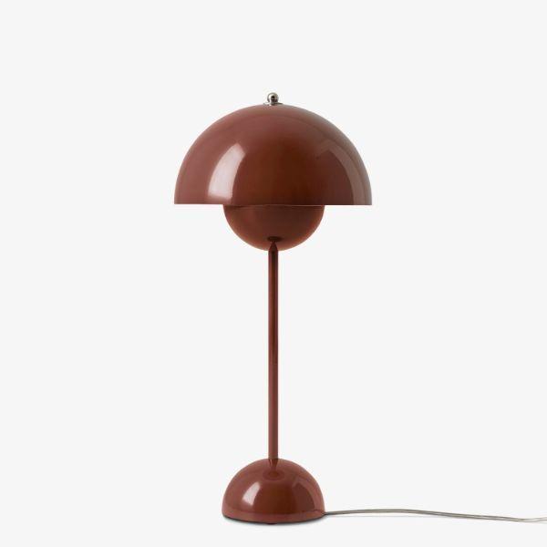 Lampa stołowa Flowerpot VP3 - kasztanowa