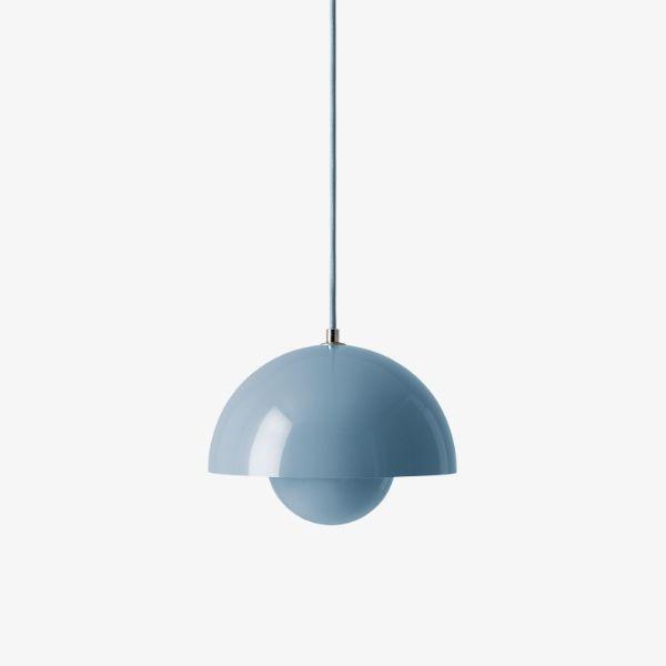 Niebieska lampa wisząca Flowerpot VP1 - 23cm