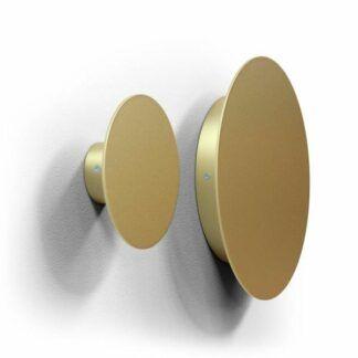 Okrągły kinkiet Lakari - złoty, 30cm