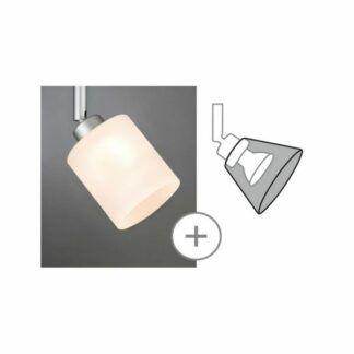 klosz Zyli - DecoSystems, szklany, biały