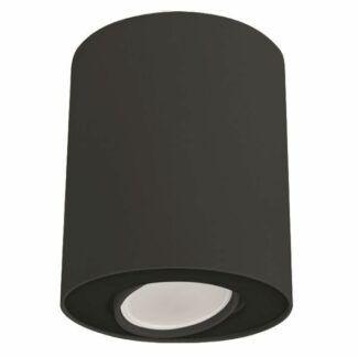 Czarna lampa sufitowa Set - spot z regulowaną głowicą