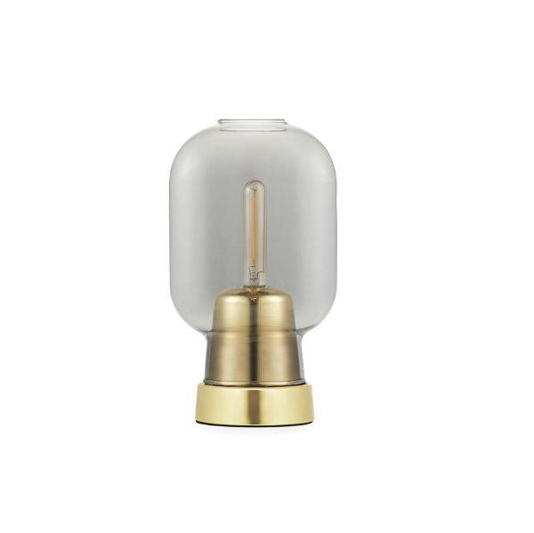 szklana lampa stołowa nowoczesny lampion