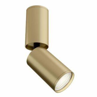 Złoty refletkor sufitowy Focus S - regulowany