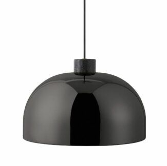 Duża lampa wisząca Grant - Ø45, czarny połysk