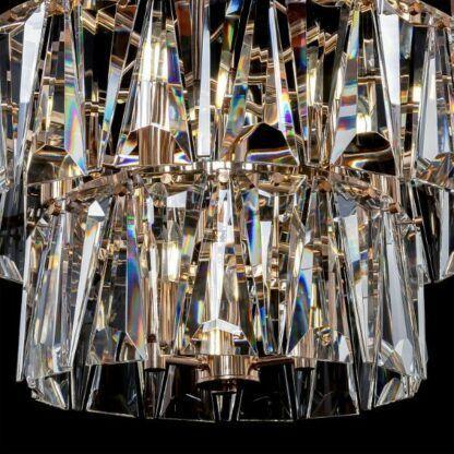 Efektowna lampa wisząca Puntes - styl glamour