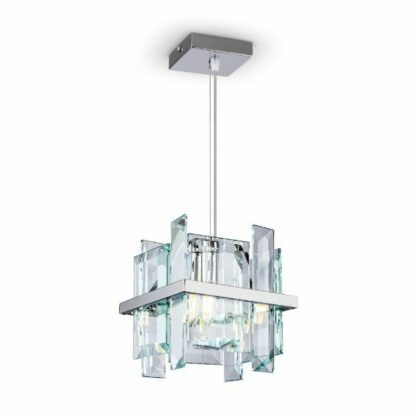Lampa wisząca Cerezo - srebrna