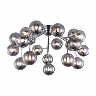 Lampa sufitowa Dallas - srebrna