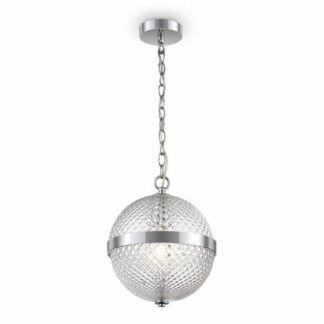 Lampa wisząca Yonkers - szklana kula