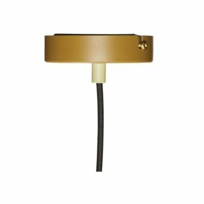 Lampa wisząca Tre Faver - stożkowa, brąz