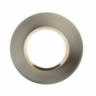Srebrne oczko sufitowe Dorado - LED, zestaw 3 szt.