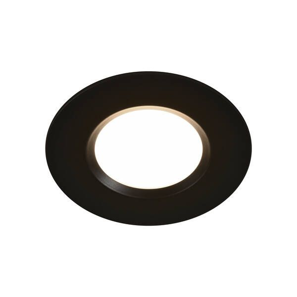 Oczko sufitowe Mahai - czarne, IP65