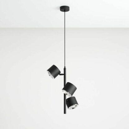 Lampa wisząca Bot 3 Vertical - regulowane klosze